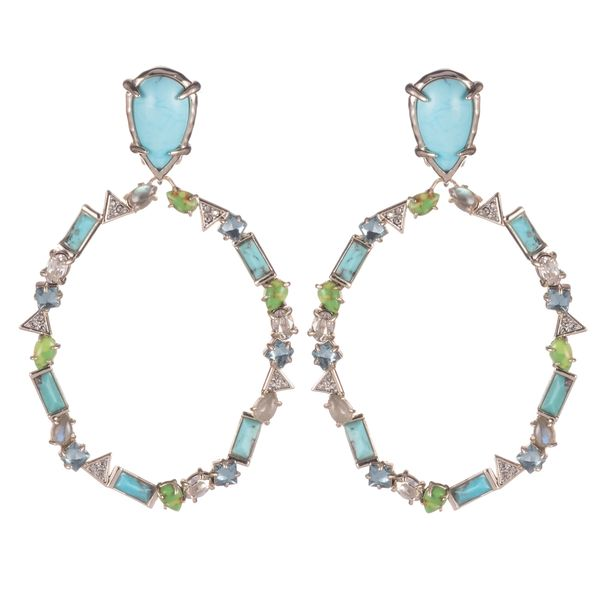 Multi-Stone Dangle Clip Earrings by Alexis Bittar Wesche Jewelers Melbourne, FL