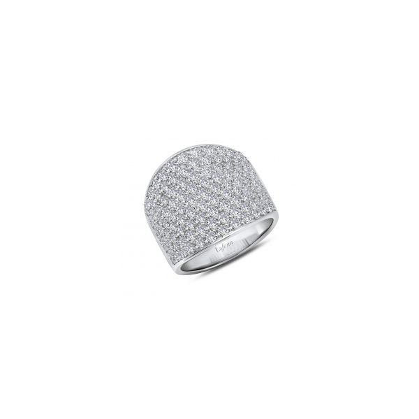 Simulated Diamond Pave Band by Lafonn Wesche Jewelers Melbourne, FL