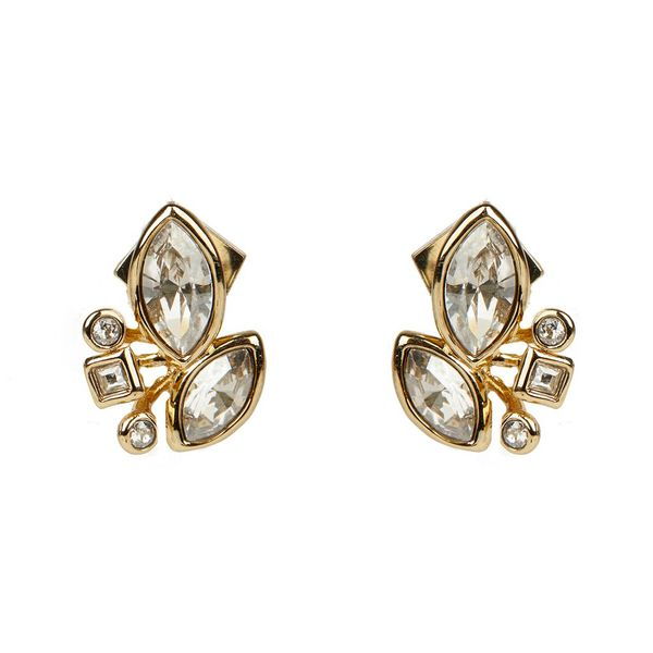 Crystal Cluster Stud Earrings by Alexis Bittar Wesche Jewelers Melbourne, FL