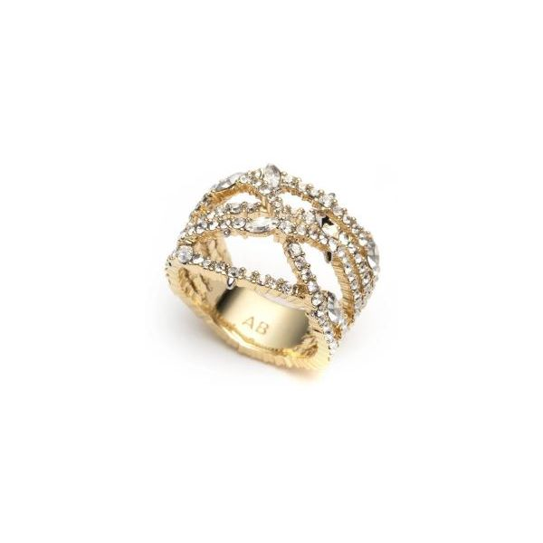 Pave Orbiting Crystal Accented Ring by Alexis Bittar Wesche Jewelers Melbourne, FL