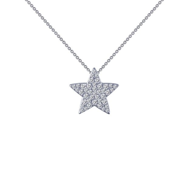 Simulated Diamond Pave Star Pendant by Lafonn Wesche Jewelers Melbourne, FL