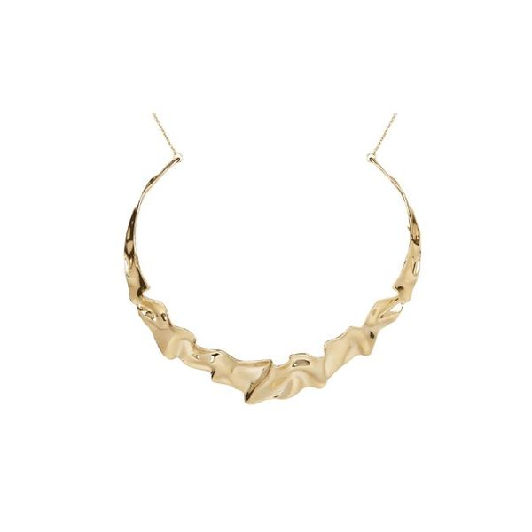 Crumpled Collar Necklace by Alexis Bittar Wesche Jewelers Melbourne, FL