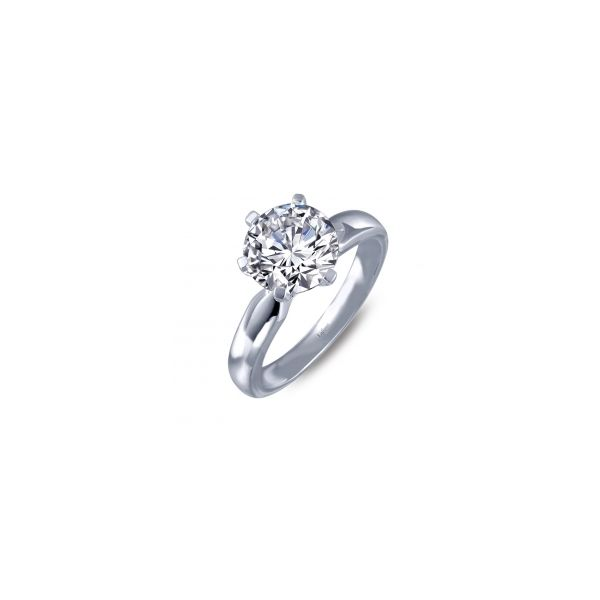 Simulated Diamond Engagement Ring by Lafonn Wesche Jewelers Melbourne, FL