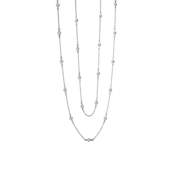 Diamond by the Yard Necklace by Lafonn Wesche Jewelers Melbourne, FL