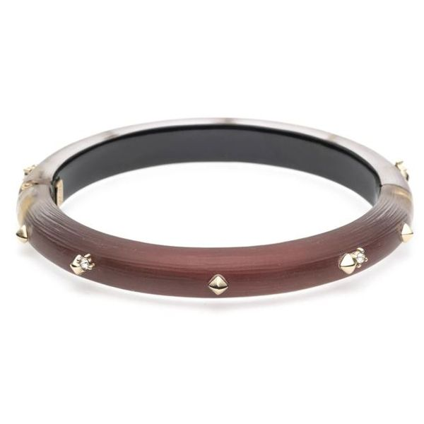 Dark Red Studded Bracelet by Alexis Bittar Wesche Jewelers Melbourne, FL