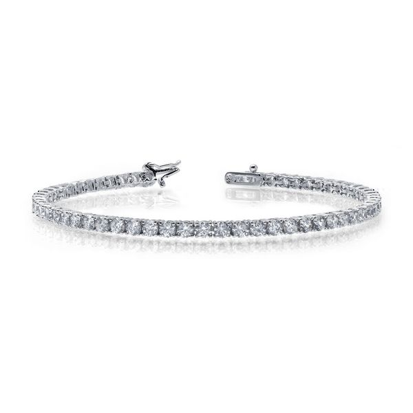 Simulated Diamond Tennis Bracelet by Lafonn Wesche Jewelers Melbourne, FL