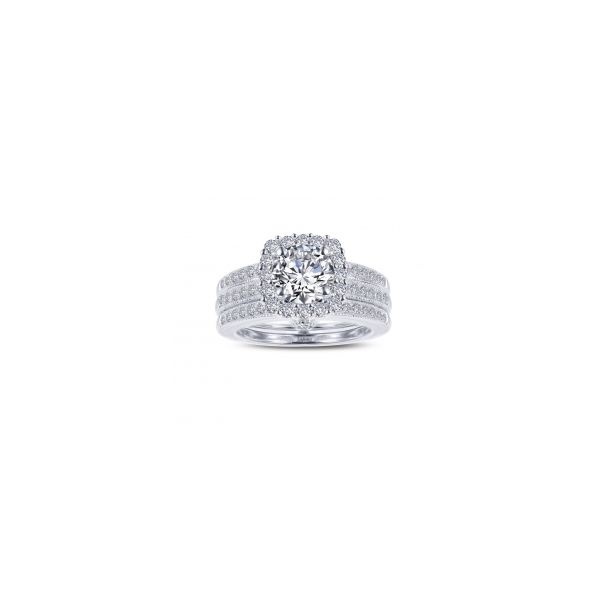 Simulated Diamond Halo Ring by Lafonn Wesche Jewelers Melbourne, FL