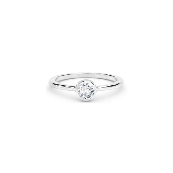 "Diamond Fashion Solitaire Ring from the ""Tribute Collection"" by Forevermark Wesche Jewelers Melbourne, FL"