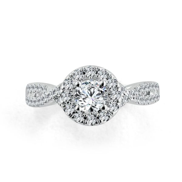 Complete Diamond Engagement Ring Image 3 Williams Jewelers Englewood, CO