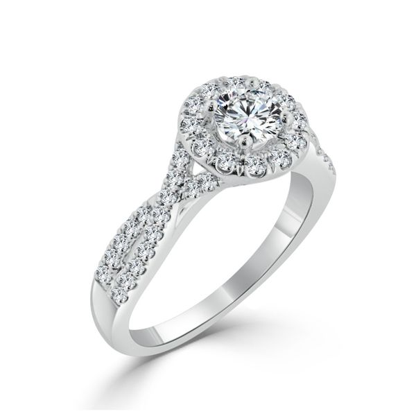Complete Diamond Engagement Ring Image 4 Williams Jewelers Englewood, CO