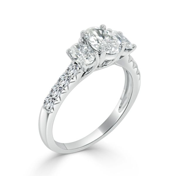 Complete Diamond Engagement Ring Image 2 Williams Jewelers Englewood, CO