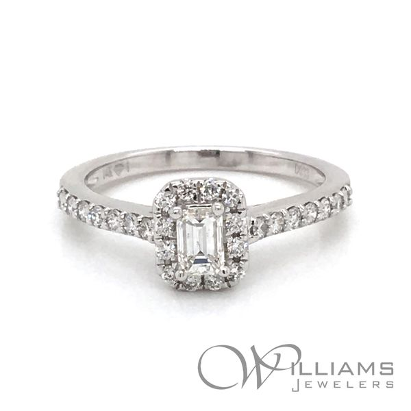 Williams Signature Diamond Engagement Ring Williams Jewelers Englewood, CO