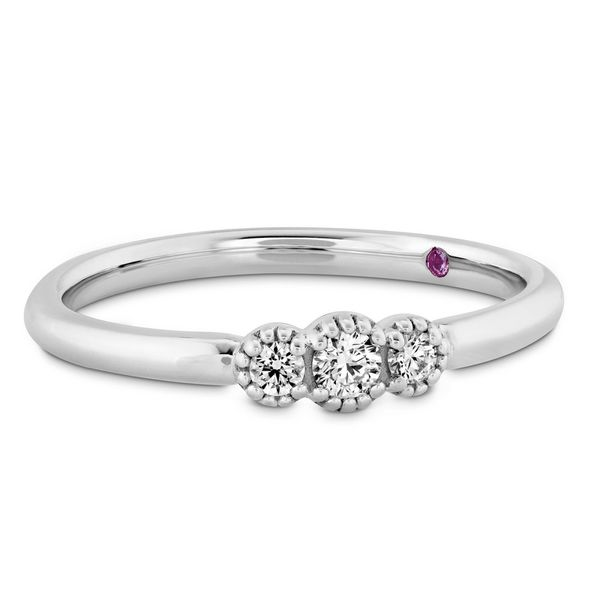 Hearts On Fire Diamond Anniversary & Wedding Band Image 4 Williams Jewelers Englewood, CO