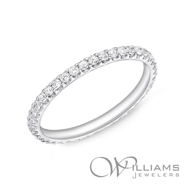 Memoire Diamond Wedding & Anniversary Band Williams Jewelers Englewood, CO