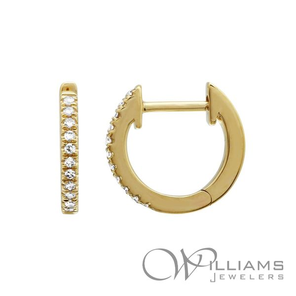 Diamond Hoop Earrings Williams Jewelers Englewood, CO