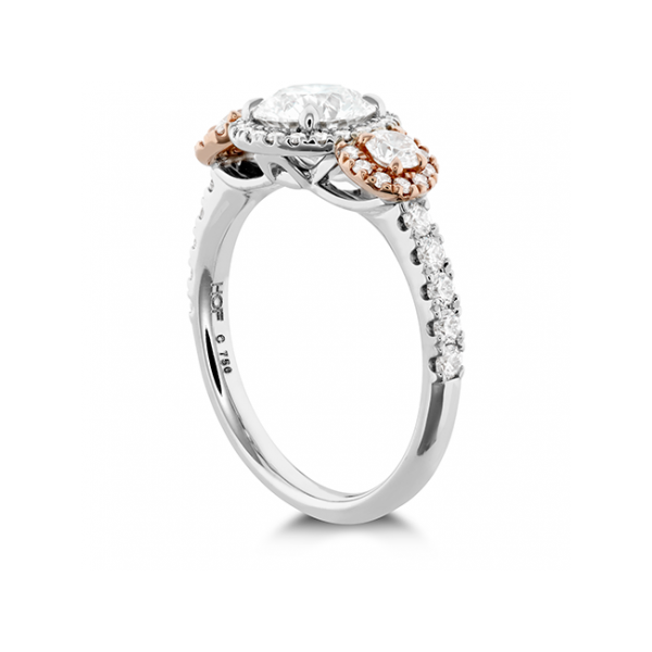 Hearts On Fire Bridal Engagement Ring Image 3 Williams Jewelers Englewood, CO