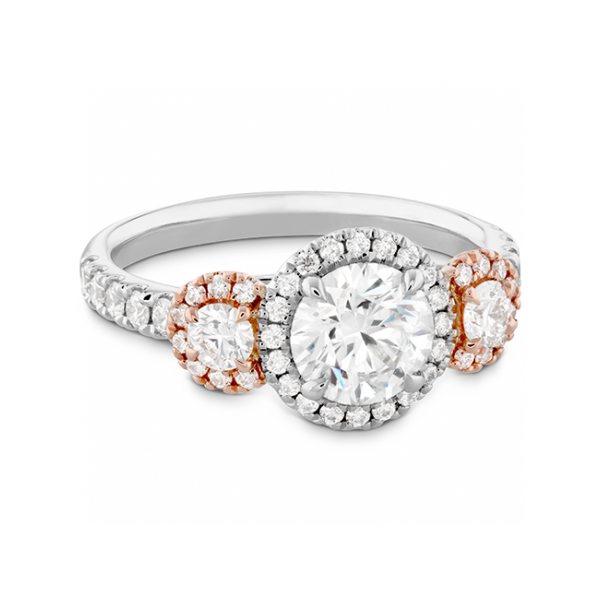 Hearts On Fire Bridal Engagement Ring Image 4 Williams Jewelers Englewood, CO