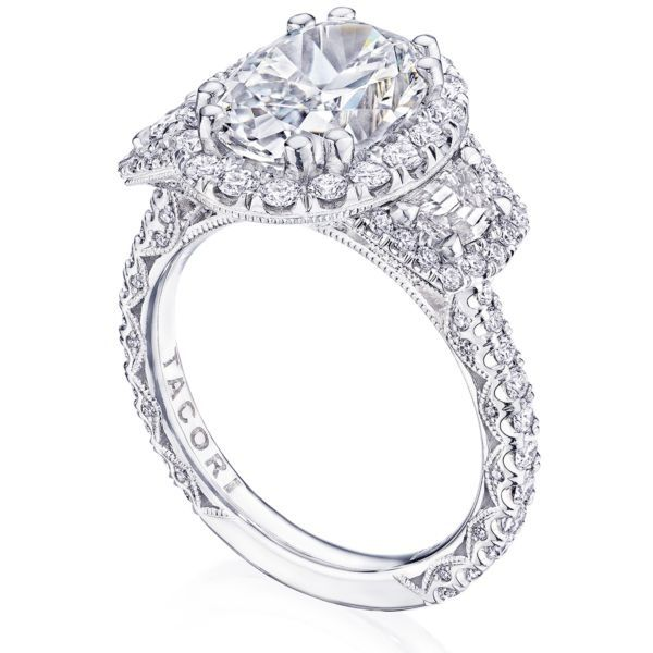 Tacori Bridal Engagement Ring Image 3 Williams Jewelers Englewood, CO