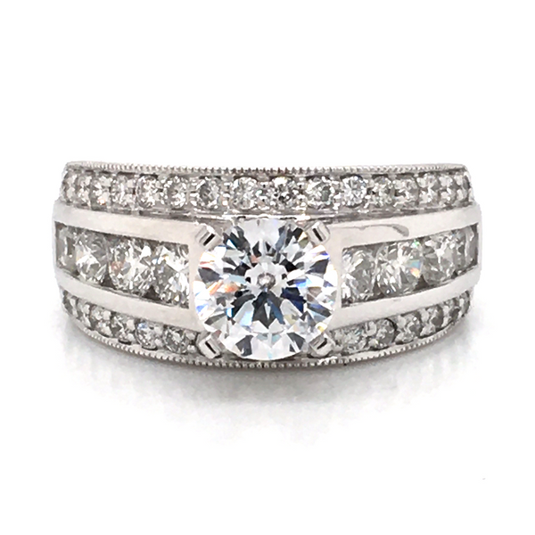 Bridal Engagement Ring Image 3 Williams Jewelers Englewood, CO