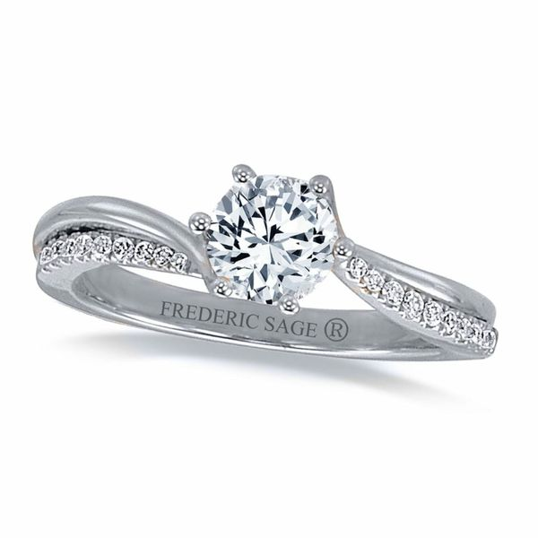 Frederic Sage Bridal/semi-mount Ring Williams Jewelers Englewood, CO