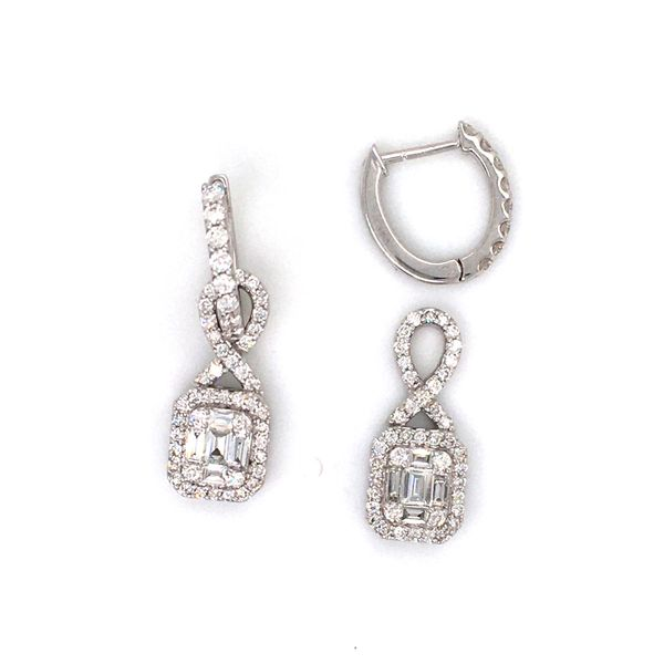 Diamond Fashion Earrings Image 2 Williams Jewelers Englewood, CO