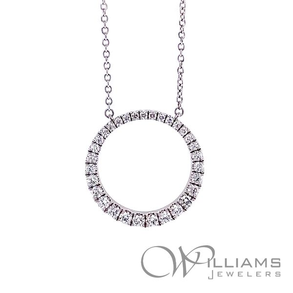 Memoire Diamond Necklace Williams Jewelers Englewood, CO