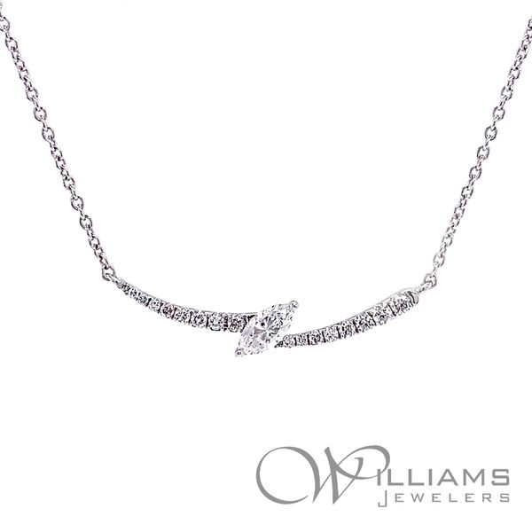 Frederic Sage Diamond Necklace Williams Jewelers Englewood, CO