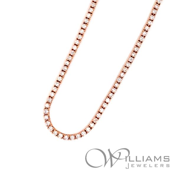 Williams Signature Diamond Necklace Image 2 Williams Jewelers Englewood, CO