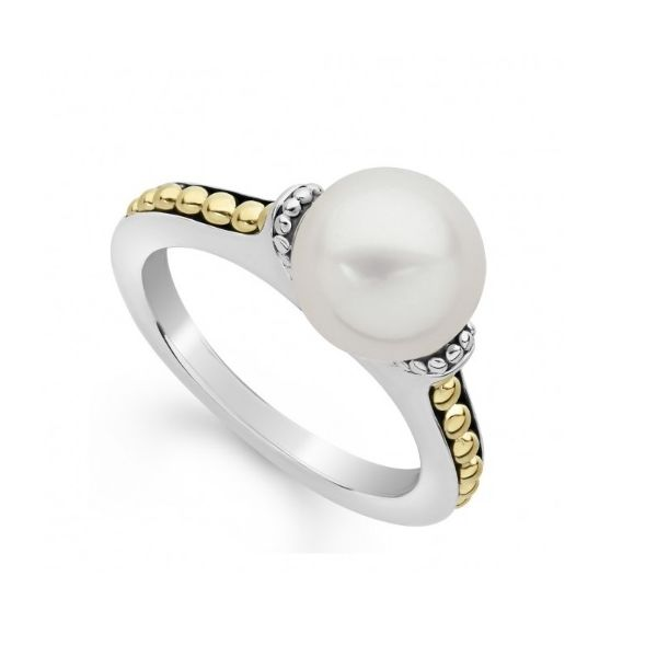 Lagos Pearl Ring Image 2 Williams Jewelers Englewood, CO