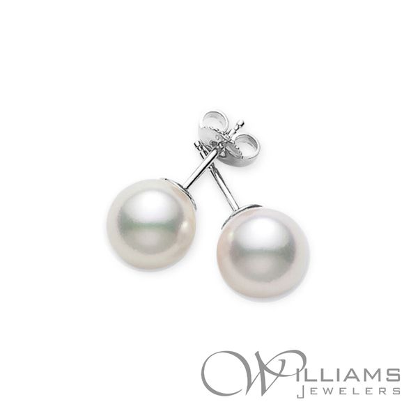 Mikimoto Pearl Earrings Williams Jewelers Englewood, CO