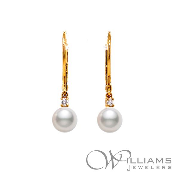 Pearl Earrings Image 2 Williams Jewelers Englewood, CO