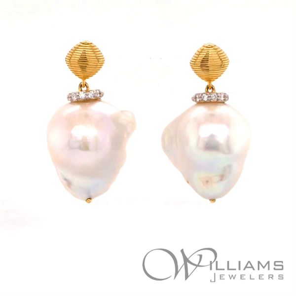 Sloane Street Pearl Earrings Williams Jewelers Englewood, CO