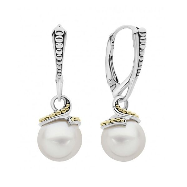 Lagos Pearl Earrings Image 2 Williams Jewelers Englewood, CO