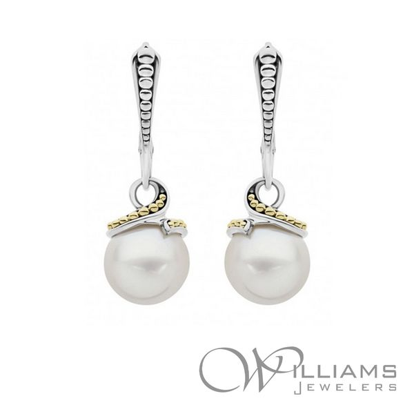 Lagos Pearl Earrings Williams Jewelers Englewood, CO