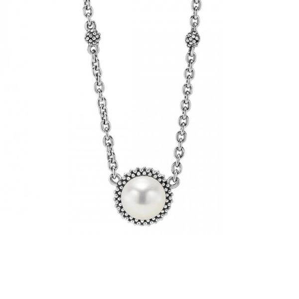 Lagos Pearl Pendant Image 2 Williams Jewelers Englewood, CO