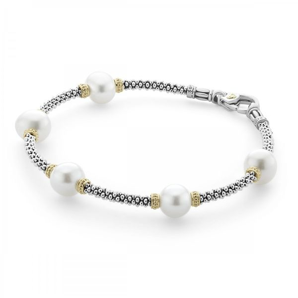 Lagos Pearl Bracelet Image 2 Williams Jewelers Englewood, CO