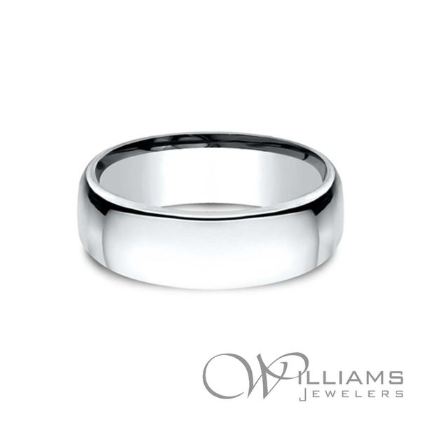Benchmark Gold Wedding Band Williams Jewelers Englewood, CO