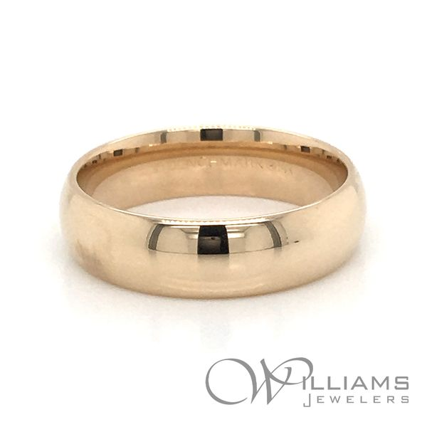 Gold Wedding Band Williams Jewelers Englewood, CO