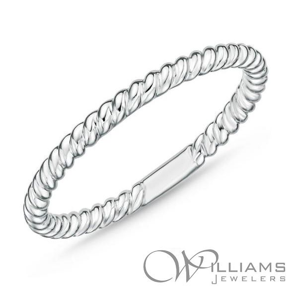 Memoire Gold Wedding Band Williams Jewelers Englewood, CO