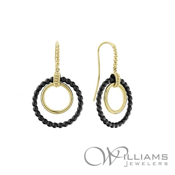 Lagos Gold Earrings Williams Jewelers Englewood, CO
