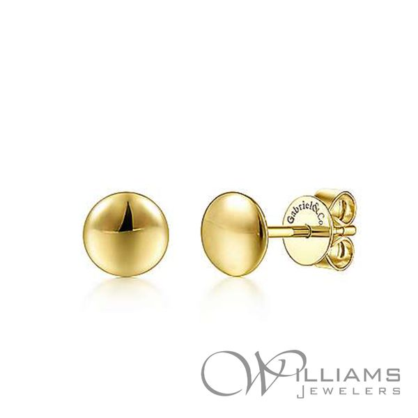 Gabriel & Co. Gold Earrings Williams Jewelers Englewood, CO