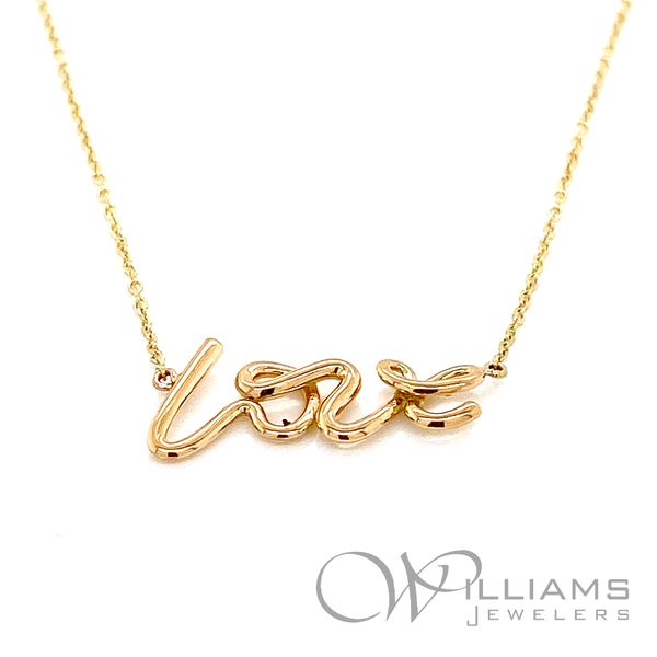 Williams Signature Gold Pendant Williams Jewelers Englewood, CO