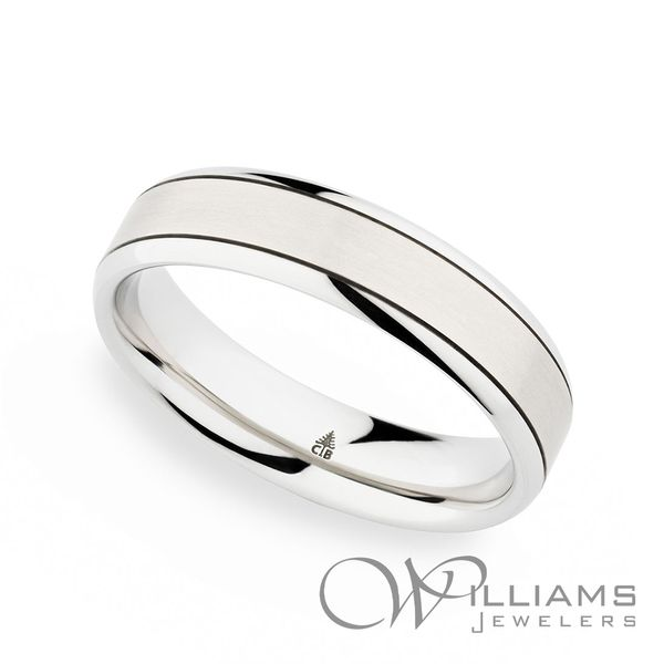 Christian Bauer Platinum Wedding Band Williams Jewelers Englewood, CO