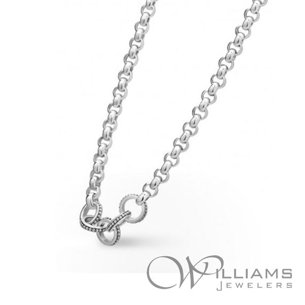 Lagos Silver Necklace Image 2 Williams Jewelers Englewood, CO