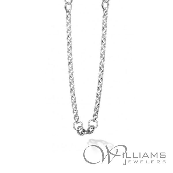 Lagos Silver Necklace Williams Jewelers Englewood, CO