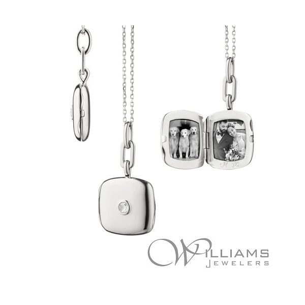 Monica Rich Kosann Silver Pendant Williams Jewelers Englewood, CO