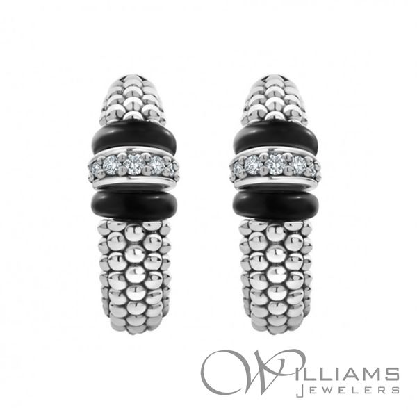 Lagos Silver Earrings Image 2 Williams Jewelers Englewood, CO