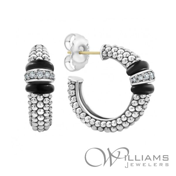 Lagos Silver Earrings Image 3 Williams Jewelers Englewood, CO
