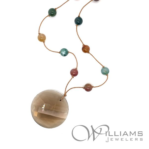 Sophie Gems Colored Stone Necklace Image 2 Williams Jewelers Englewood, CO