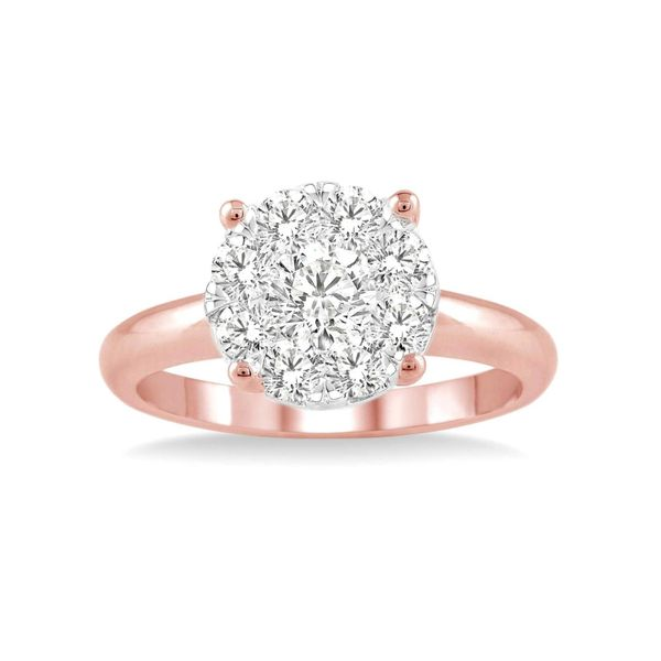 14K Rose Gold .75Ctw Lovebright Diamond Solitaire Ring Your Jewelry Box Altoona, PA